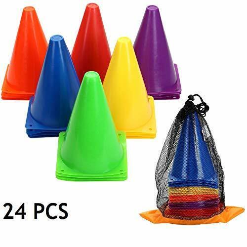 plastic traffic cones sport training cone sets