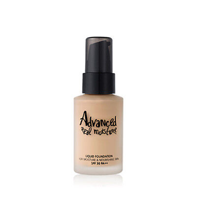 Advanced Foundation ([touch in SOL] Advanced Real Moisture Foundation SPF30 PA++ 30ml)