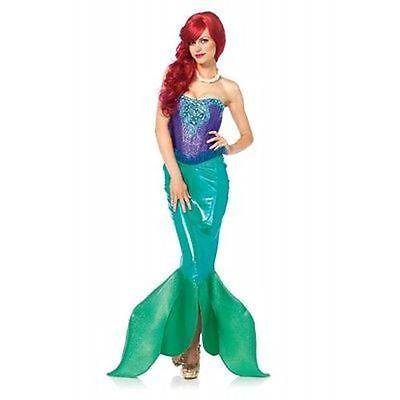 Leg Avenue Deep Sea Sirene Kleine Meerjungfrau Prinzessin Halloween Kostüm 85368