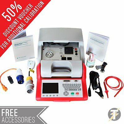 Seaward Supernova Professional Elite Bench Pat Tester Kit73 W Free Accessories