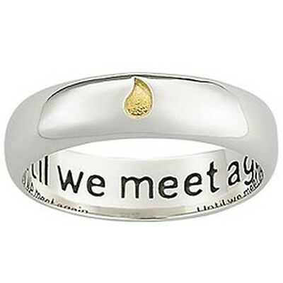 until we meet again ring engravable