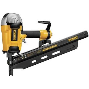 DEWALT D51850R 2-inch to 3 1/2-inch 21° Round Head Framing Nailer Air Nail Gun