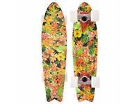 Globe Bantam ST Skateboard 23 x 6 inch Super Tough Cruiser Board Bantom - Tropical