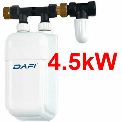 4,5 kW 230V Instant Water Heater Dafi In-Line Under Sink NEW!!!