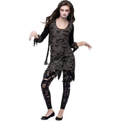 Living Dead Walking Zombie Teen Halloween Costume, Size: Girls' MEDIUM - NEW!!](Living Dead Girl Halloween Costumes)