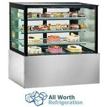 New 1200mm Square Glass Food, Sweets, Cake Fridge Display Chiller Westmead Parramatta Area Preview