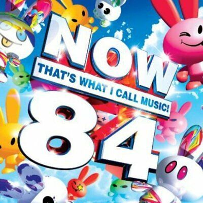NOW THATS WHAT I CALL MUSIC 84 - NEW & SEALED - UK STOCK - DOUBLE CD