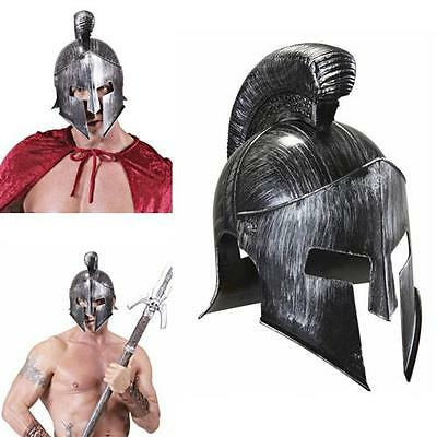 SPARTANER HELM Karneval Kostüm Zubehör Troja Gladiator Söldner Rüstung 02418