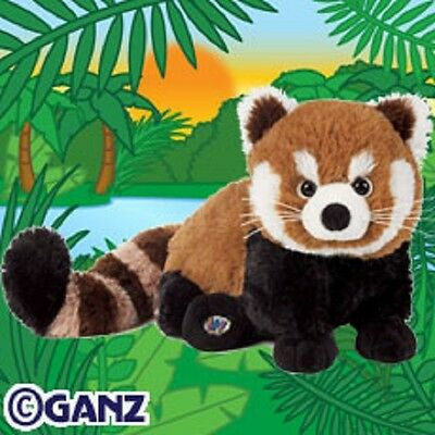 Webkinz Red Panda HM406 NEW with attached UNUSED code FREE Shipping!!!