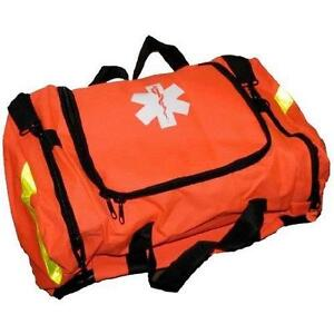 New, Ever Ready First Aid Large EMT First Responder Trauma Bag, Orange (OpenBox) PU1