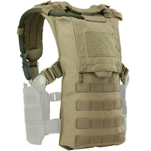 CONDOR-MOLLE-Modular-Tactical-Nylon-HYDRO-HARNESS-vest-242-COYOTE-TAN