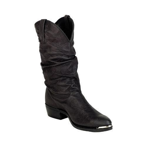 mens slouch boots ebay