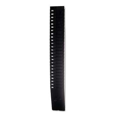 Time Card Rack Time 25-9ex Expandable 25-pocket Holds 9 Cards Plastic