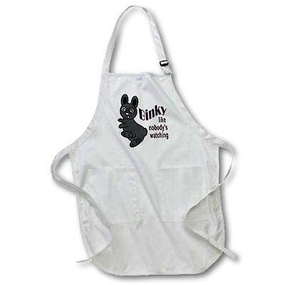 New Binky Like Nobodys Watching Rabbit Cooking Apron 22w X 24l W Pouch Pockets