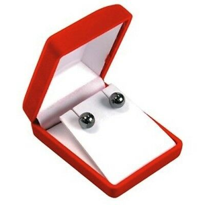 Wholesale 144 Red Velvet Large Earring Or Pendant Display Packaging Gift Boxes