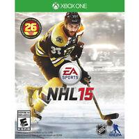 Jeu NHL 15 en parfaite état pour Xbox One.