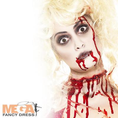 Zombie Make-Up Halloween Mens Ladies Fancy Dress Costume Horror Makeup Facepaint - Men Make Up Halloween