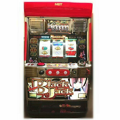BR Super Black Jack Digital LCD Japanese Pachislo Skill Stop Slot Machine