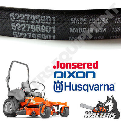 Genuine Husqvarna Deck Belt 522795901 | 539104335 | MZT61 MZ61