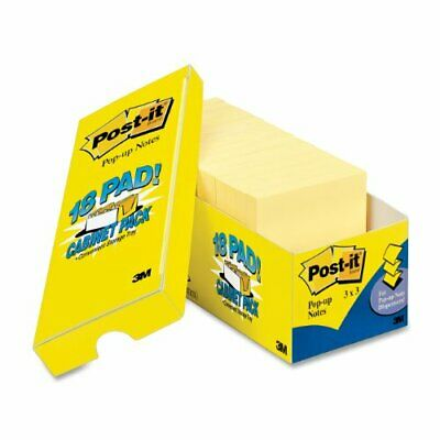 Post-it Cabinet Pack Note - Self-adhesive Repositionable - 3 X 3 - Yellow -