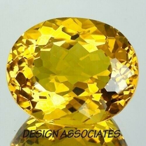 GOLDEN BERYL 13.00 x 8.80 MM OVAL CUT OUTSTANDING COLOR F-685