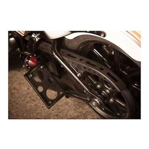 RSD TRACKER SIDE MOUNT LICENCE PLATE BRACKET FOR SOFTAILS London Ontario image 2