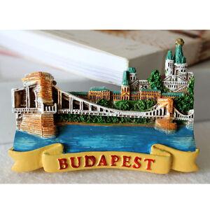 SOUVENIR-3D-Resin-FRIDGE-MAGNET-BUDAPEST-Hungary