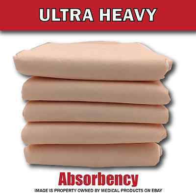 100 NEW HEAVY BED PADS Adult Urinary Incontinence Disposable Pee Underpads 30x36