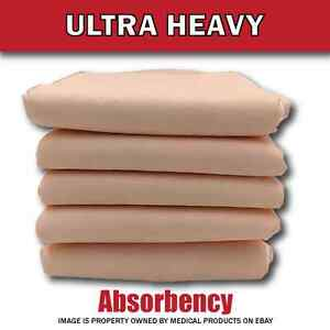 100 Disposable Incontinence Underpads for Bed 30x36 Bulk Quilted Thick Bed Pads