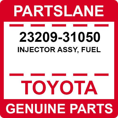 23209-31050 Toyota Oem Genuine Injector Assy, Fuel
