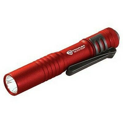 Streamlight 66323 Microstream LED Flashlight, Red