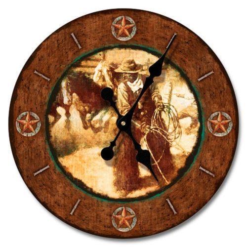 Western Wall Clock Ebay