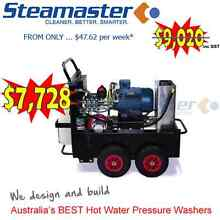 Steamaster Buster1521F Hot Water Pressure Washer with Stainless City North Canberra Preview