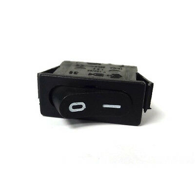 2 Pin Single Pole On-off Switch Black