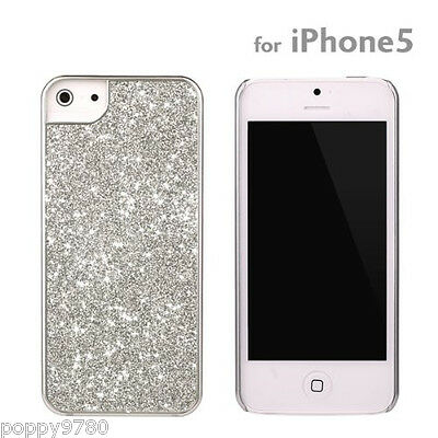 New PopnGo Hard Cover Case Slider slim High Gloss - Silver for iPhone 5 Hard Case Slider