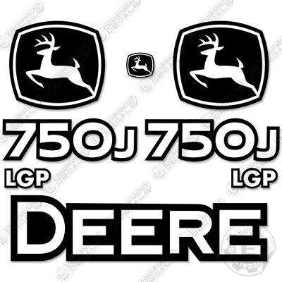 John Deere 750j Lgp Decal Kit Crawler Tractor Dozer Equipment Decals