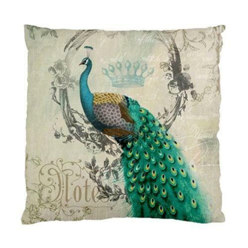 Throw Pillow Peacock : Peacock Pillow eBay