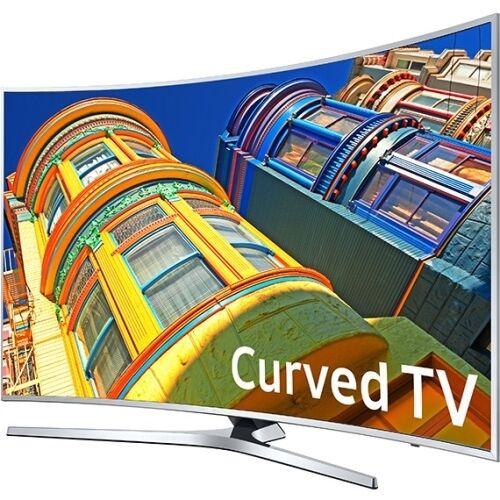 Samsung 4K 65-inch Class Curved Smart TV with HDR Wifi Netflix Apps UN65KU6500