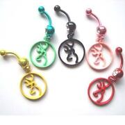Browning Belly Button Rings