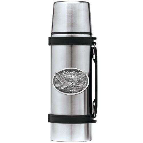 Heritage Pewter Eagle Thermos | HPITHS109