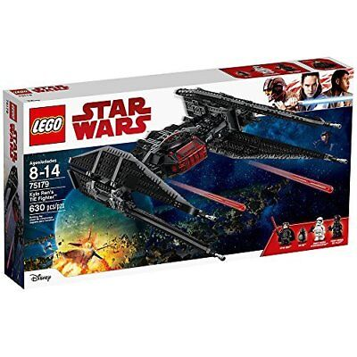 Lego 75179 Star Wars Kylo Rens Tie Fighter 630 Pieces Ages 8 14 Brand New