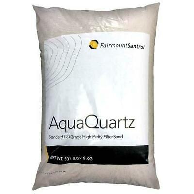 Fairmount Minerals Pool Filter Sand 20-Grade Silica Sand 50 Pounds Also for Use