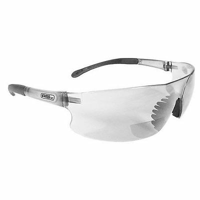 RADIANS RSB-115 Rad Sequel RSX 1.5 Bifocal Clear Lens Safety Glasses Reading Z87