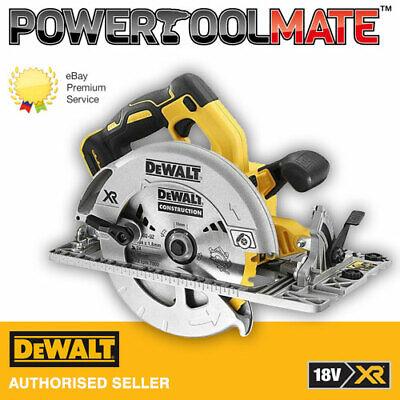 Dewalt DCS572N 18v XR Brushless 184mm Circular Saw + Guide Rail Base...