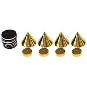 Dynavox-Spikes-Sub-vatios-Sistema-de-absorcion-4er-Kit-Laton