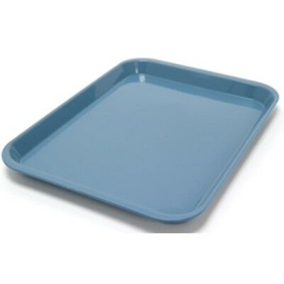 Dental Set-up Tray Flat Size B Ritter Blue Plastic - 13-38 X 9-58 X 78