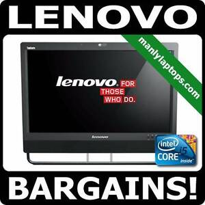 EXCELLLENT LENOVO M92Z ALL IN ONE PC i5 3.7GHz , TOP QUALITY !! Pyrmont Inner Sydney Preview