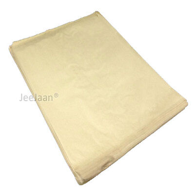100 BROWN KRAFT SULPHITE STRUNG PAPER BAGS FOOD SANDWICH GROCERY 175mm x175mm
