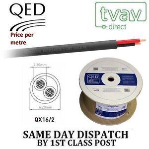 QED Professional QX16/2 PE 2 Core Outdoor Speaker Cable - Price Per Metre