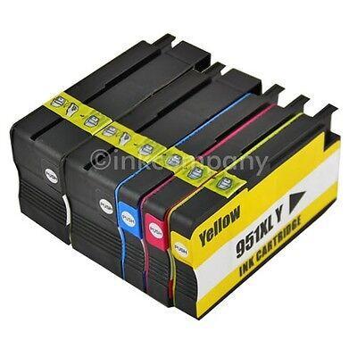 5 Drucker Patronen für HP 950 951 XL Officejet Pro 8100 8610 8615 8620 8630 8640 online kaufen